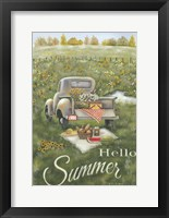 Framed Hello Summer