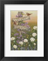 Framed Welcome Spring