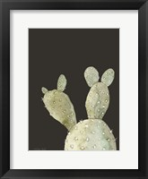 Framed Happy Cactus III
