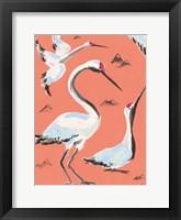 Framed Storks I
