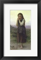 Framed Little Shepherdess, 1891