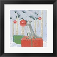 Framed Christmas Critters Bright VII