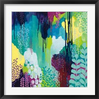Framed Jewel Forest I