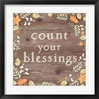 Framed Autumn Offerings I Dark Blessings