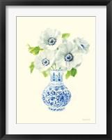 Framed Floral Chinoiserie I