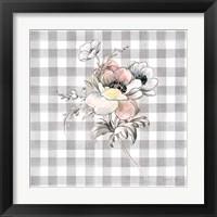 Framed Sketchbook Garden X Checker