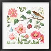 Framed Studio Botanicals III