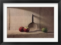 Framed Apple Trio