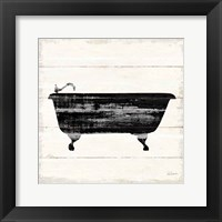 Framed Shiplap Bath I