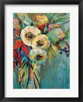 Framed Mod Floral