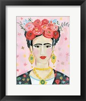 Framed Homage to Frida