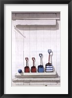 Framed Summer Shovels
