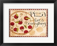 Framed Pizza Fixes Everything