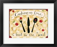 Framed Cooking With Love