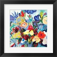 Framed Fancy Flowers