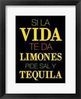 Framed Vida Limones