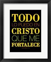 Framed Todo Cristo