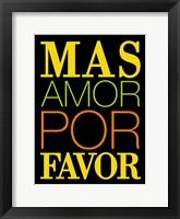 Framed Mas Favor