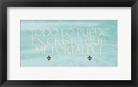 Framed Filipenses Todo Mint