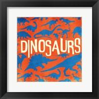 Framed Dino
