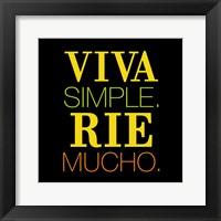 Framed Viva Rie