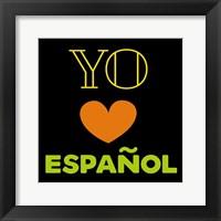 Framed Love Espanol