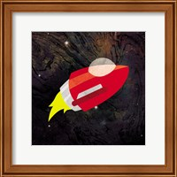 Framed Spaceship Adventure Two
