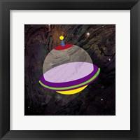 Spaceship Adventure Three Framed Print