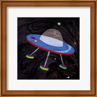 Framed Spaceship Adventure Four