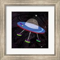 Framed Spaceship Adventure Four