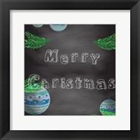 Framed Christmas 2nd Chalk Board