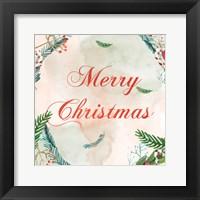 Framed Christmas Wall Post 1