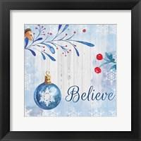 Framed Christmas Believe