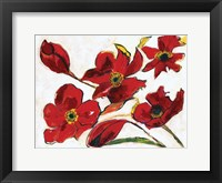 Framed Poppy Reds
