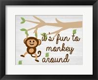 Framed Monkey Around 2