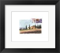 Framed Toscana
