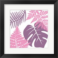 Framed Tropical Color Bloom 2