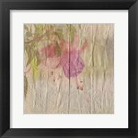 Framed Vintage Bloom 1