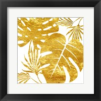 Framed Golden Tropics