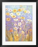 Garden in Spring Framed Print