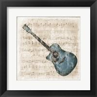 Framed Acoustic Blues