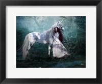 Framed Fairy with Unicorn