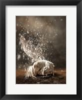 Framed White Butterfly Fairy