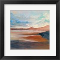 Framed Mountain Sunset
