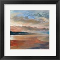 Framed Mountain Sunset 2