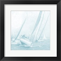 Framed Boating On The Seas