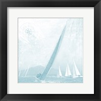 Framed Boating On The Seas 2