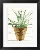 Framed Wood Plant Pot