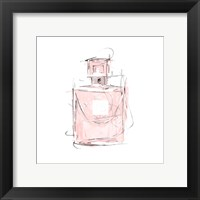 Framed Pink Perfume