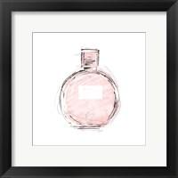 Framed Pink Perfume Mate